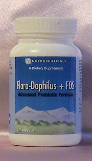 картинка флора-дофилус+FOS. пробиотик с лакто- и бифидо- живыми кишечными бактериям для нормализации кишечной флоры днепр украина